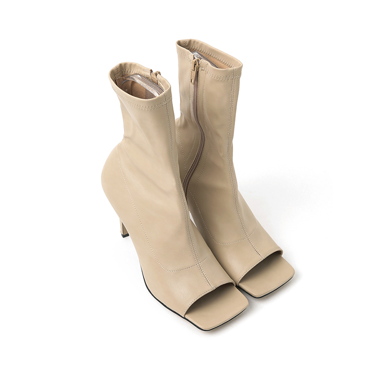 Korean AR-2687 메그 Open Toes High heels ankle boots(15th REORDER)