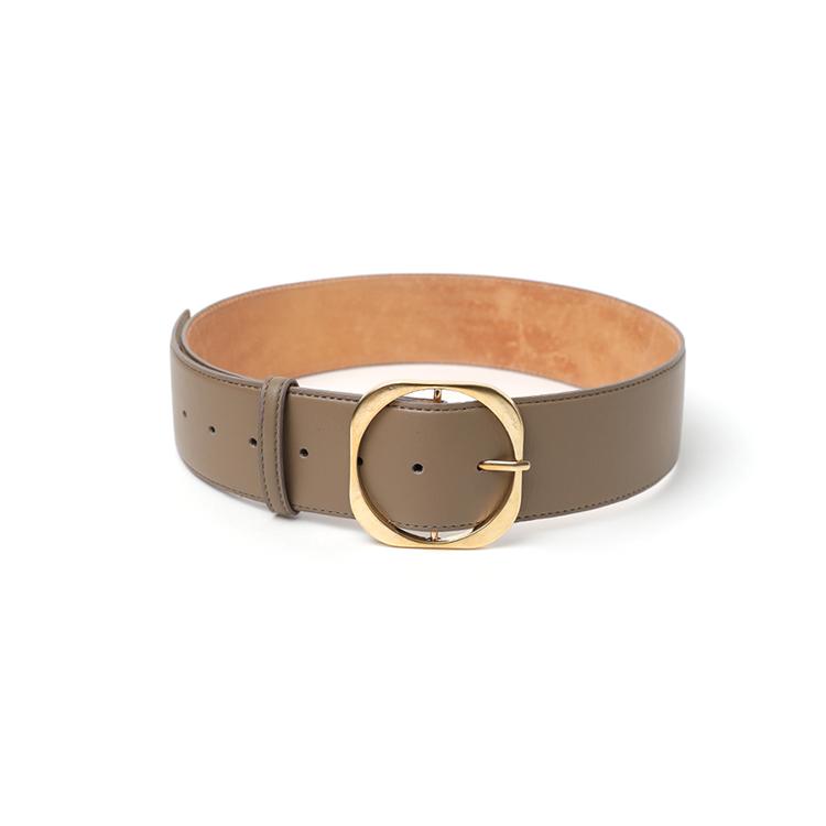 Korean AT-410 Big Gold real leather Belt